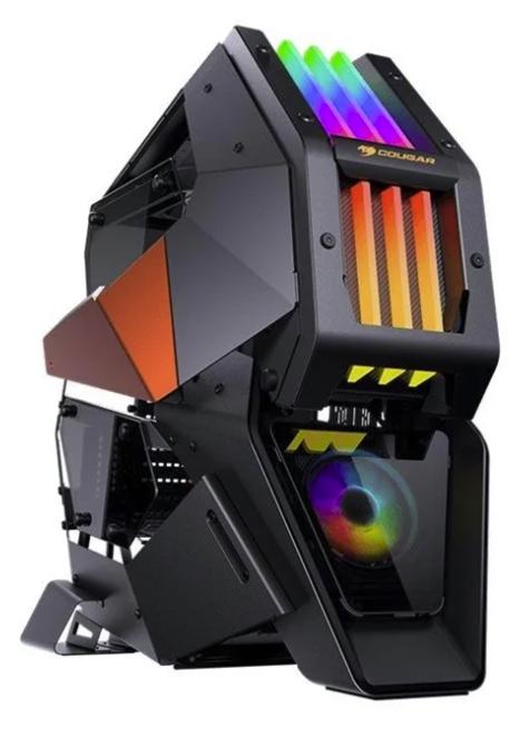 Cougar Conquer 2 PC Gehäuse Miditower in Schwarz für 259,32€ inkl. Versand (statt 293€)
