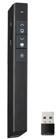 VICTSING - RF Wireless Presenter mit USB Dongle & Laserpointer für 6,99€