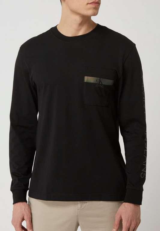 Calvin Klein Longsleeve aus Bio-Baumwolle für 19,99€inkl. Versand (statt 38€)