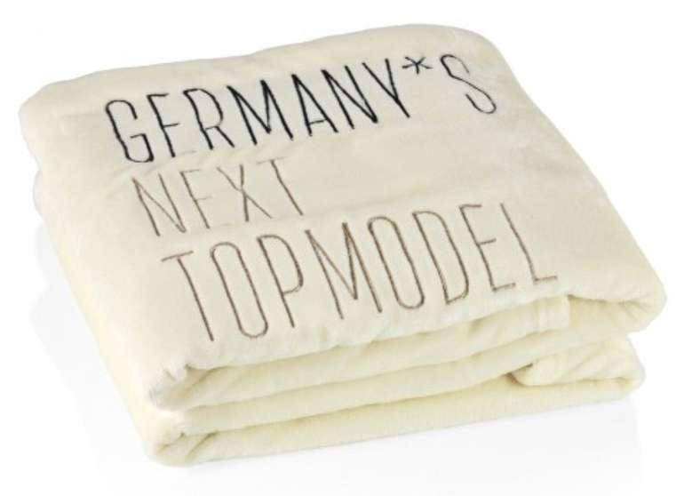 GNTM bzw. Germany's Next Topmodel Kuscheldecke (150 x 200 cm) für 13,89€ inkl. Versand (statt 24€)