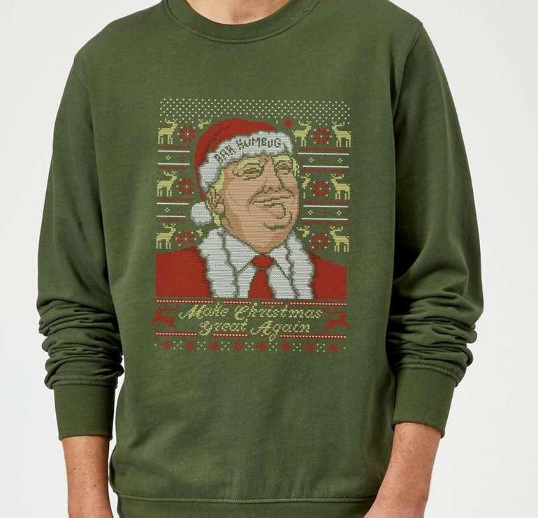 Make Christmas Great Again! Weihnachtspulloverfür 15,99€ inkl. Versand (statt 25€)