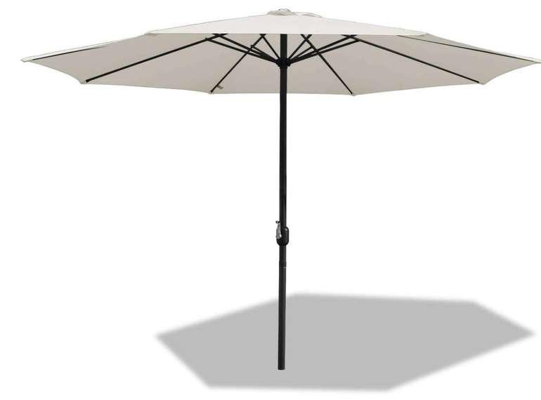 Bmot 300cm Alu Sonnenschirm mit UV Schutz 40+ für 37,79€ inkl. Versand (statt 63€)