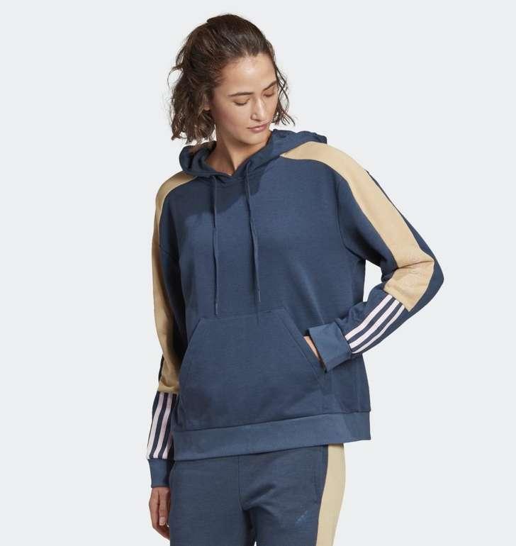 Adidas Essentials Logo Colorblock Hoodie für 25,50€ inkl. Versand (statt 38€)