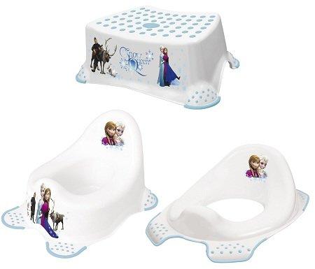 Keeeper Kinder 3er WC-Set (Töpfchen, Toilettensitz, Tritthocker) 19,99€