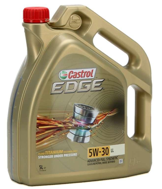 Castrol Edge Motoröl Titanium 5W30 (5 Liter) für 37,98€inkl. Versand (statt 43€)