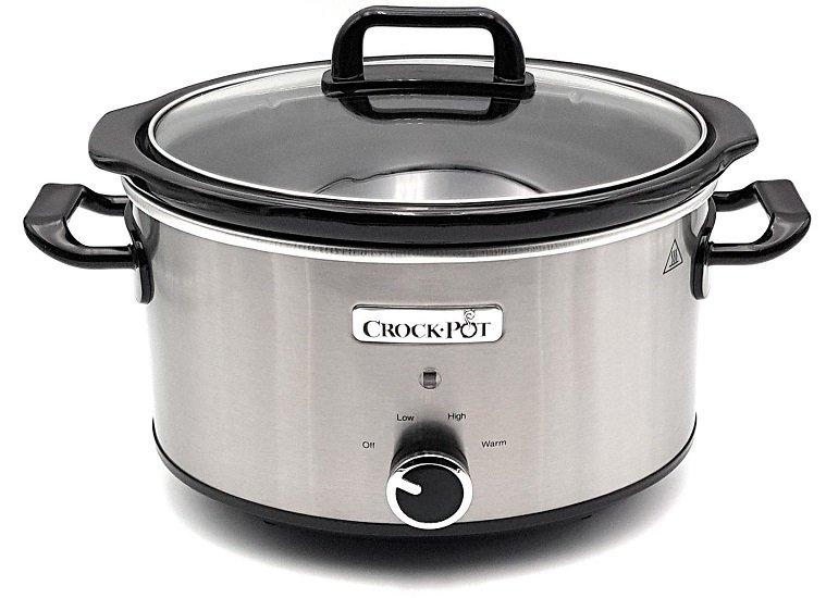 Crock-Pot CSC025X Schongarer Slow Cooker Chrom 3.5l Edelstahl 2-3 Personen für 46,99€ (statt 59€)