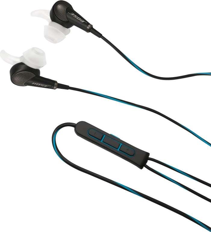 Bose QuietComfort 20i In-Ear-Kopfhörer für 113,95€ inkl. Versand (statt 184€)
