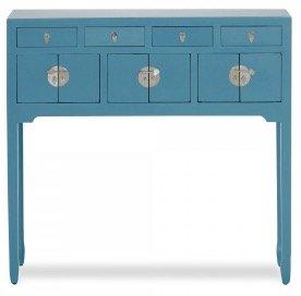 Homy: 20% auf Möbel im Landhausstil – z.B. blauer Satre Schreibtisch für 444€