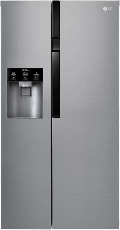 LG GSL 561 PZUV - 591 L Side-by-Side Kühlschrank mit Eis-, Crushed Ice- & Wasserspender für 849€