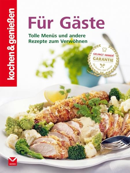 Thalia: Diverse Kochbücher ab 2,50€, z.B. Kochen & genießen Für Gäste für 4,99€ (statt 10€)