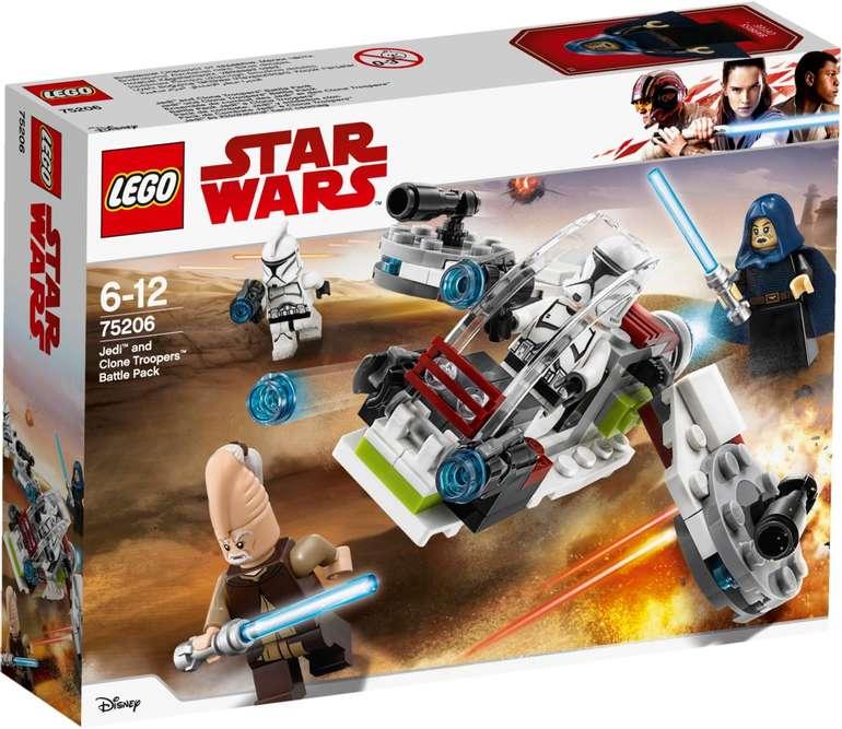 LEGO Star Wars 75206 Jedi und Clone Troopers Battle Pack für 26€ inkl. Versand (statt 39€)