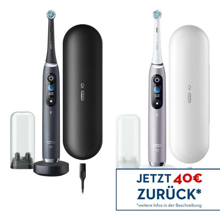 Braun Oral-B IO Series 9N Elektrische Zahnbürste für 224,91€ (statt 261€) + 40€ Cashback