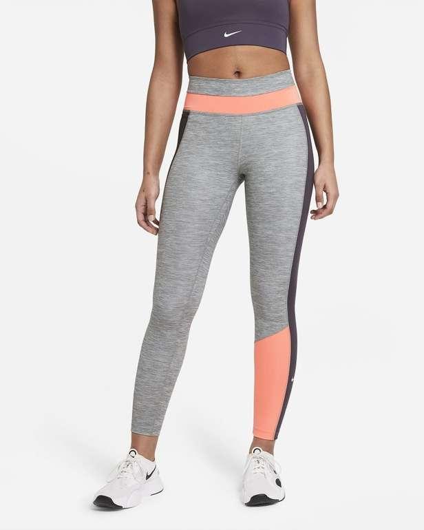Nike One Damen 7/8-Leggings mit meliertem Design für 27,98€ (statt 37€) - Nike Membership!