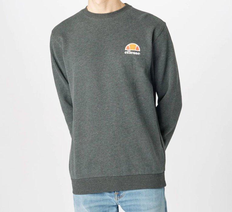 """Ellesse Herren Sweatshirt """"Diveria"""" in grau für 29,94€ inkl. Versand (statt 45€)"""