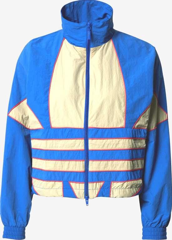 Adidas Originals Jacke in creme / blau / pink für 28,74€ inkl. Versand (statt 41€)