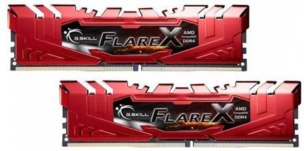 G.Skill Flare X 16GB Arbeitsspeicher DDR4 2.400 MHz CL16 für 79,90€ (statt 98€)