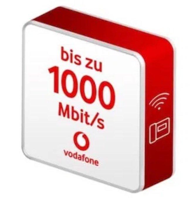 Vodafone Red Internet & Phone 1000 Cable + Nintendo Switch (4,95€) + WLAN Router für effektiv 38,32€ mtl.
