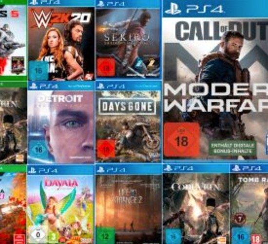 Media Markt: 2 Spiele kaufen + 1 Spiel geschenkt bekommen – fast auf das ganze Games-Sortiment!