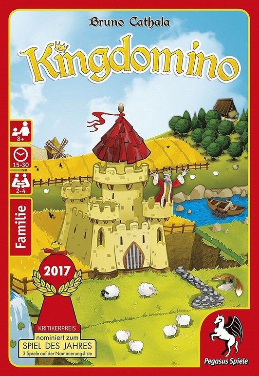Pegasus 57104G Kingdomino (Spiel des Jahres 2017) für 7,99€ inkl. Versand