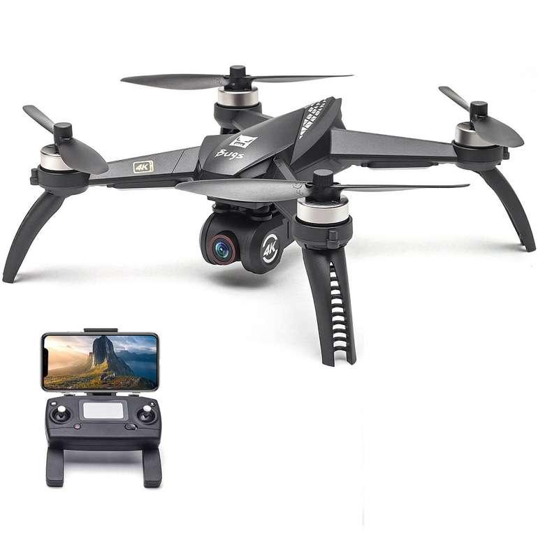 MJX Bugs 5W 5G WIFI FPV RC Drone / Quadcopter mit 1080p Kamera für 116,44€ (statt 145€)
