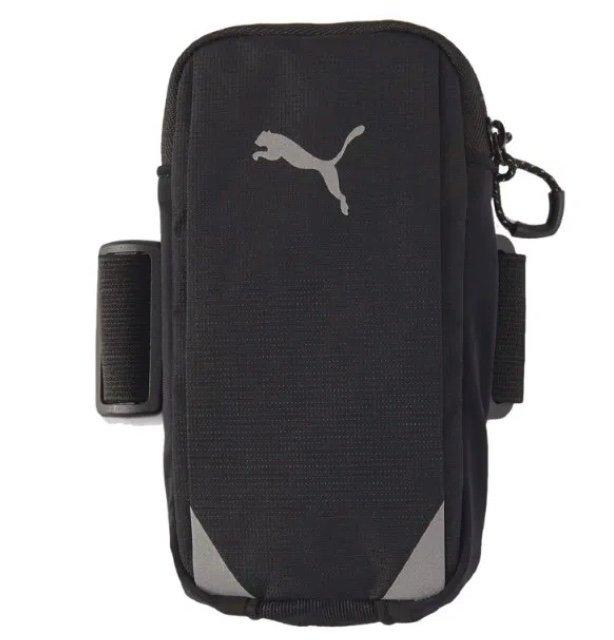 Puma Running Arm Pocket Armtasche in Schwarz für 8,34€ inkl. Versand (statt 16€)