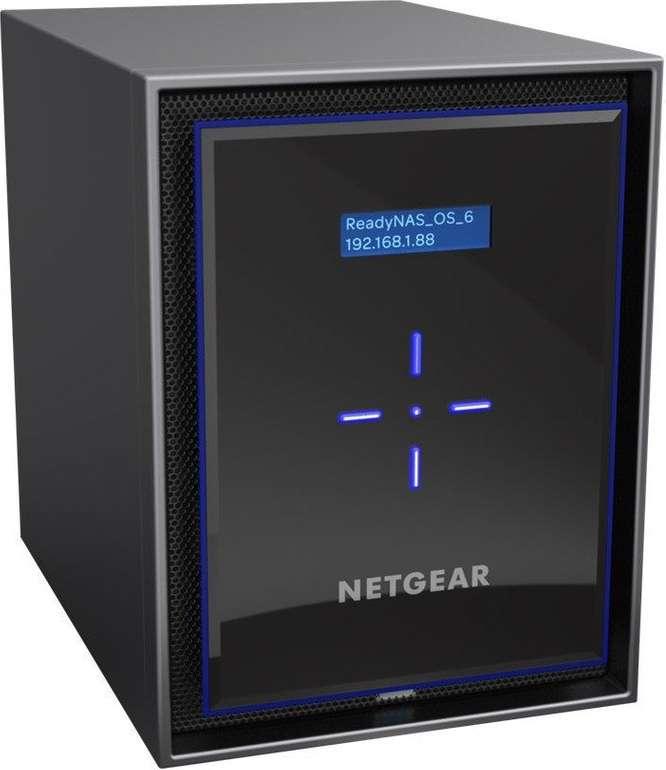 Netgear ReadyNAS RN426 - 6-Bay NAS Leergehäuse für 341,95€ inkl. Versand (statt 431€)