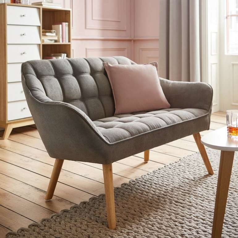 "Bessagi Home Sofa ""Monique"" in grau für 169,25€ inkl. Versand (statt 239€)"