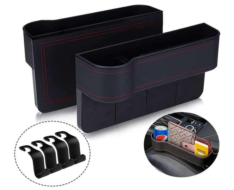 Auto Organizer Auto Aufbewahrungsbox mit Getränkehalter für 4,79€ inkl. Prime Versand (statt 16€)