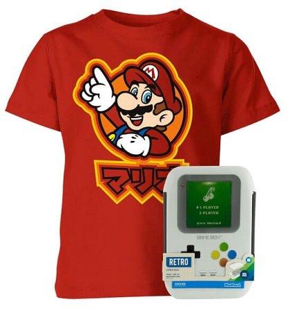 Nintendo Zurück zur Schule Set (T-Shirt + Brotdose) für 13,98€ inkl. VSK