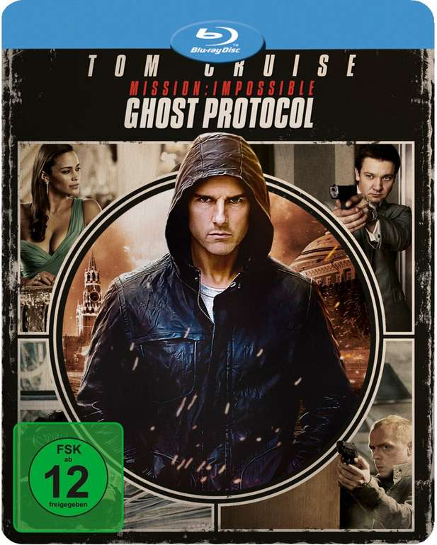 Mission Impossible 4 -  Phantom Protokoll (Novobox Futurepak Edition, Blu-ray) für 5€ (Abholung)