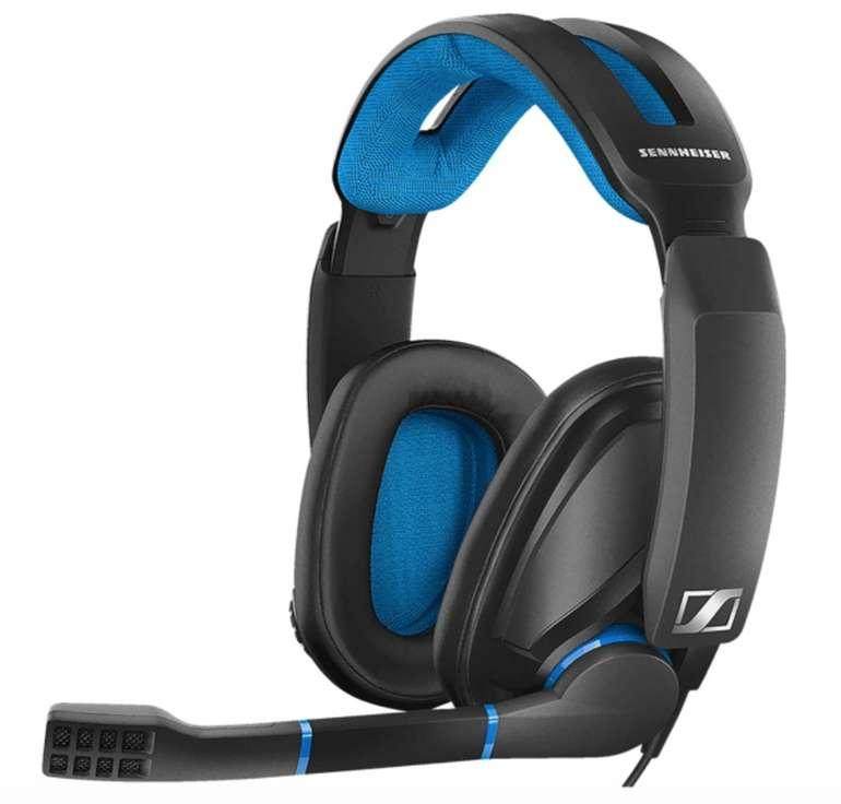 Sennheiser GSP 300 Gaming Headset in Schwarz/Blau für 59€ (statt 70€)