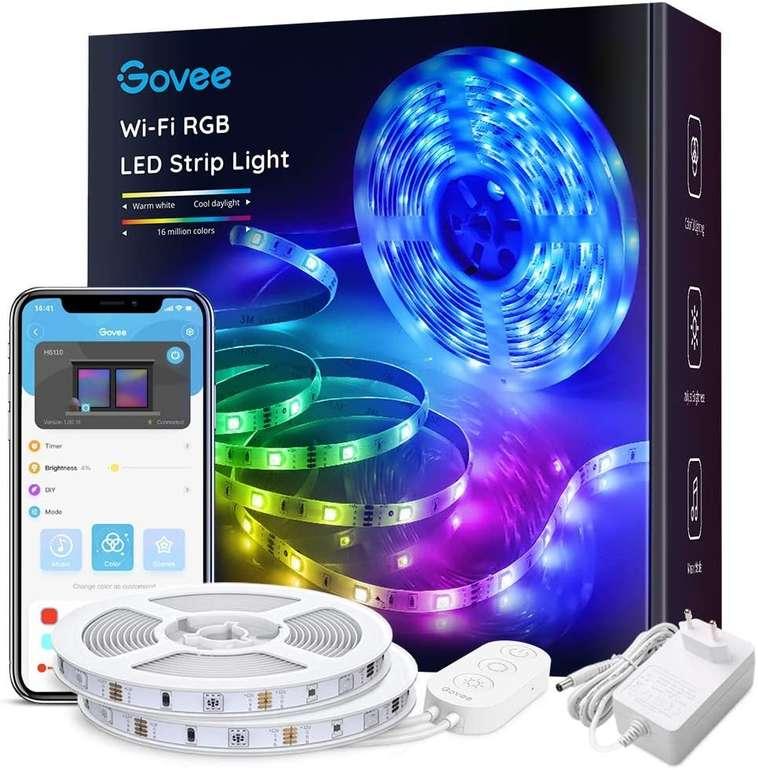 Diverse Govee Beleuchtungs-Artikel bei Amazon reduziert, z.B. 10m RGB LED Streifen für 23,44€ - Prime!