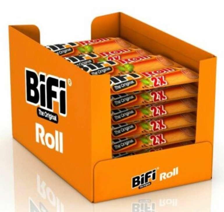 BiFi Original Roll (12 x 2 x 40 g) Salami im Teigmantel für 17,99€ inkl. Versand (statt 23€)