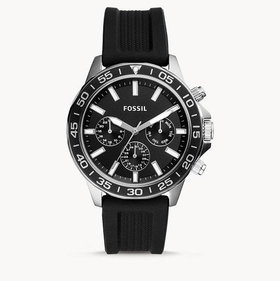 Fossil Bannon Herrenuhr mit Silikon-Armband für 63€ inkl. Versand (statt 70€)