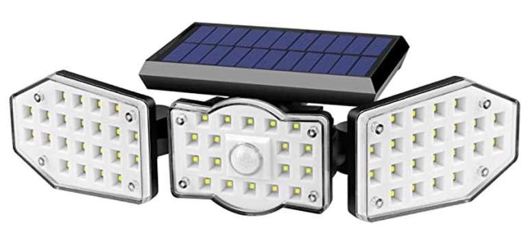 Eletorot Solarleuchte mit 62 LEDs und Bewegungsmelder für Außen (360° Drehbar, IP65) nur 11,99€ inkl. Prime
