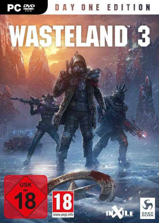 Wasteland 3 - Day One Edition (PC) für 24,98€ inkl. Versand (statt 40€)