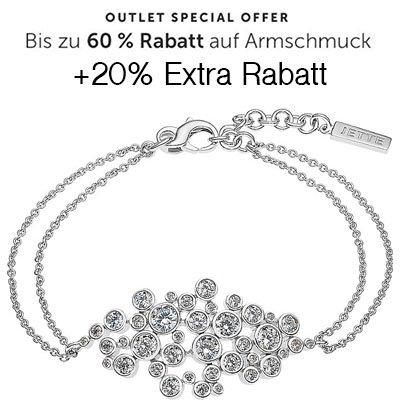 Christ: Bis zu 60% Rabatt auf Armschmuck + 20% Extra Rabatt z.B. Jette Armband