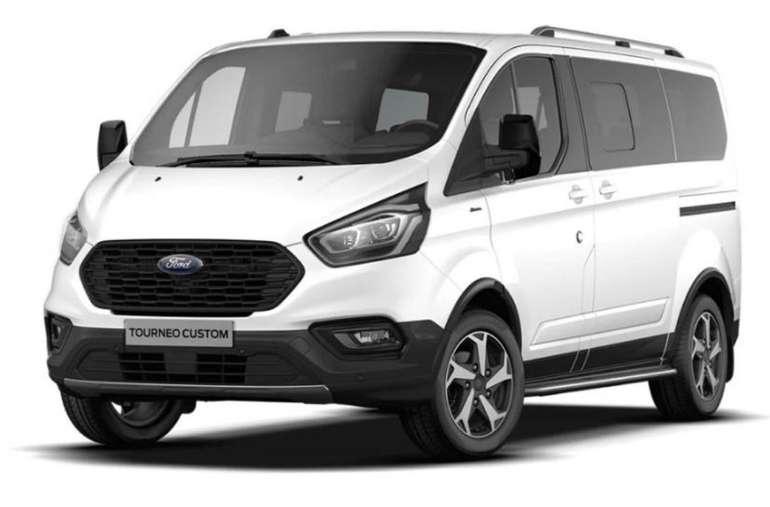 Privat Leasing: Ford Tourneo Diesel mit 130PS (konfigurierbar) für 219€ mtl. (ÜF + Zuzahlung: 1120€, LF: 0,4)