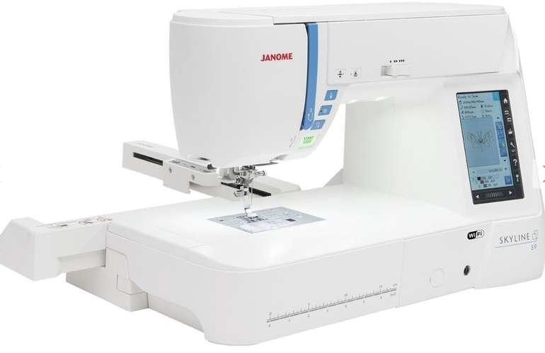 Preisfehler? Janome Skyline S9 Näh- und Stickmaschine für 7,93€ inkl. Versand (statt 2.739€)