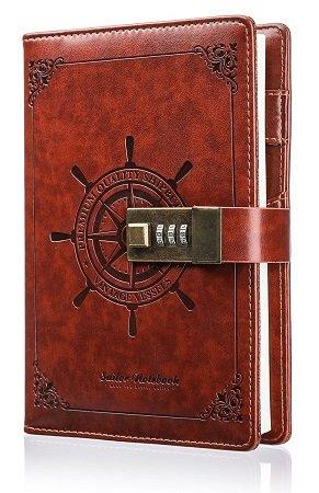 Mohoo Notizbuch mit Zahlenschloss für 12,88€ mit Prime