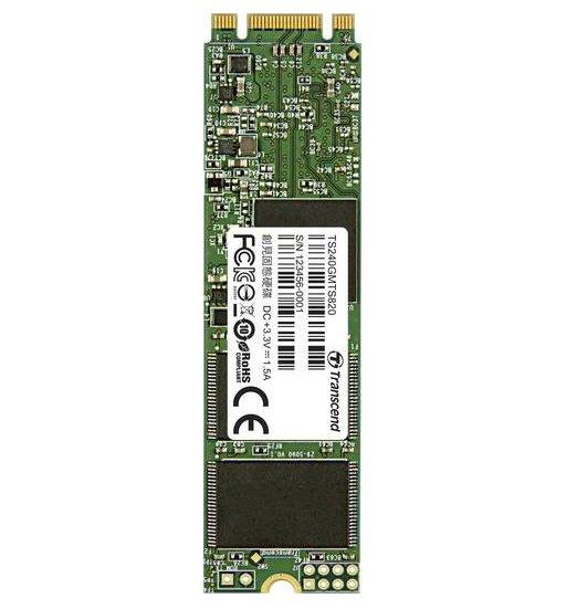 Transcend MTS820 M.2 - 240GB Notebook SSD für 68,13€ (Vergleich: 115€)