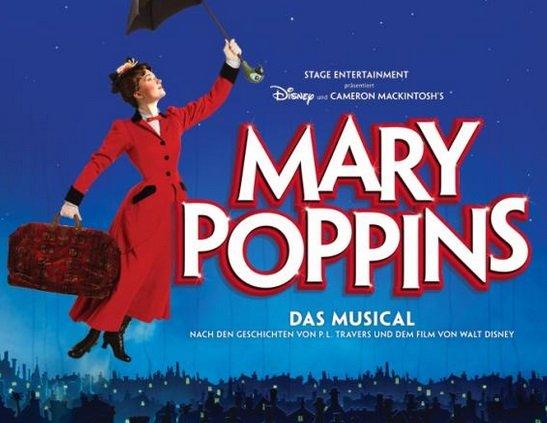 Viele Musicals mit Übernachtung ab 75€ - z.B. Marry Poppins + Hotel ab 97€