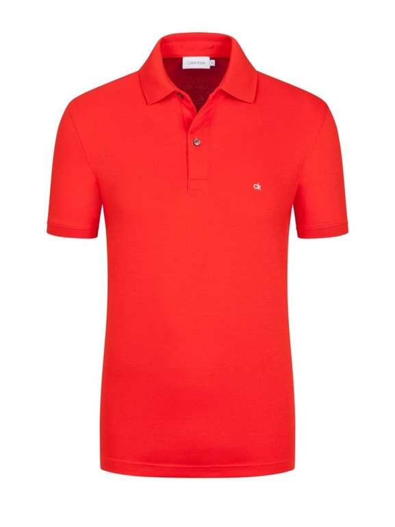 Calvin Klein Poloshirt aus 100% Baumwolle ab 45,95€ inkl. VSK (statt 55€)