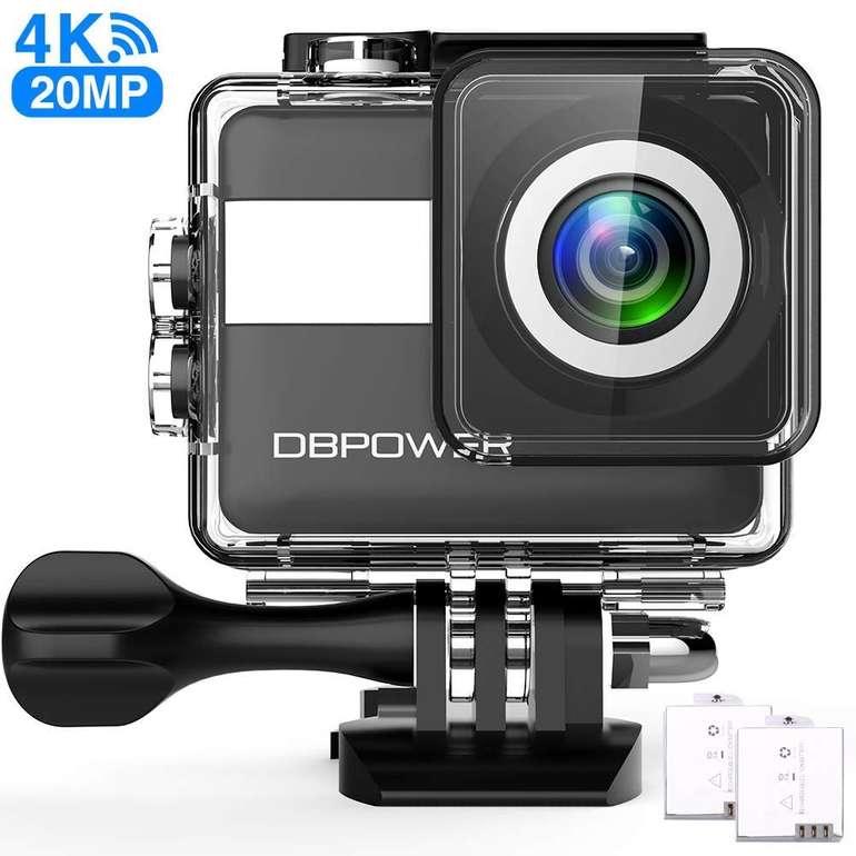 """DBPower 4K Ultra HD Action Cam mit einem 2,31"""" LCD-Touchscreen für 19,99€ inkl. VSK"""