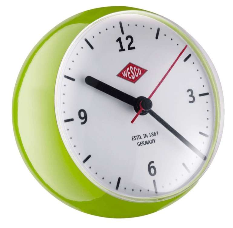 "Wesco Mini Clock ""limegreen"" für 16,50€ inkl. Versand (statt 22€)"