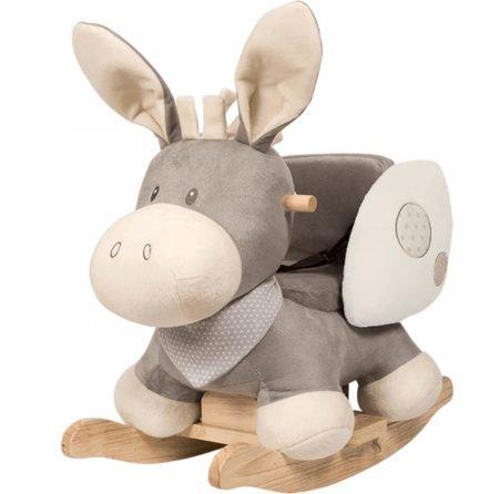 Nattou Schaukeltier Esel in Cappuccino Beige für 72,99€ inkl. VSK (statt 84€)