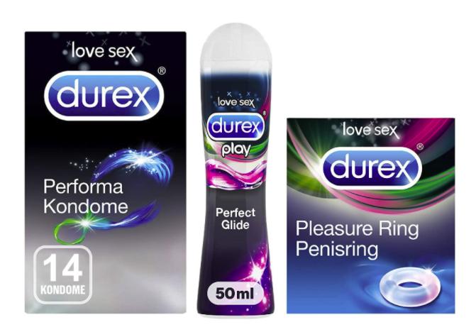 Durex Ausdauer Performa Kondome Vorteilsset (14 Stück) für 9,99€ inkl. Versand (statt 20€)