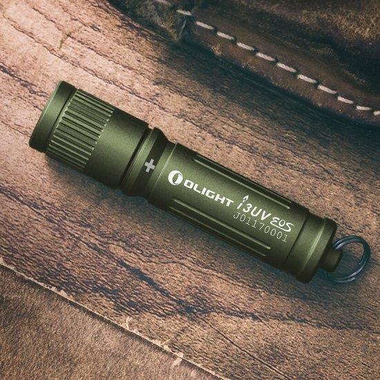 Olight I3UV EOS UV-Taschenlampe (Wert: 20€) für einmalig 5,95€ Versandkosten