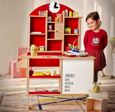 Beluga Kaufladen mit Magnettafel für nur 29,99€ in einer NKD Filiale abholen