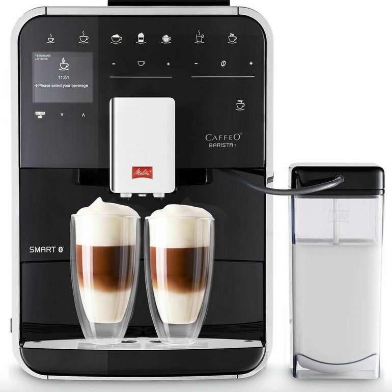 Melitta Caffeo Barista T Smart F830-102 Kaffeevollautomat mit Milchbehälter & App-Steuerung für 619€
